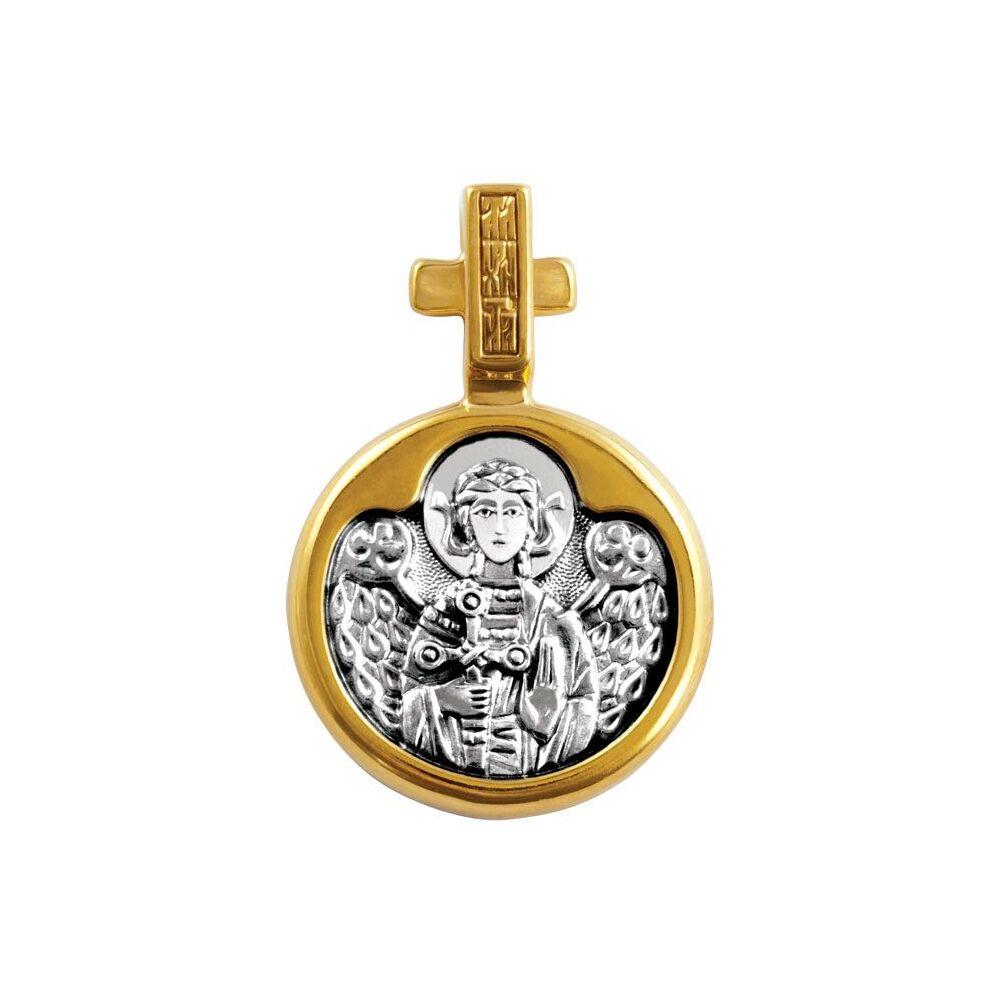 Icon Akimov 102.144 «Holy Martyr Ludmila of Bohemia. The Guardian Angel»