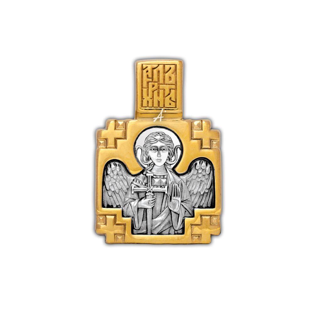 """Образок Акімов 102.149 «Святитель Артемій Селевкійскій.Ангел охоронець"""""""