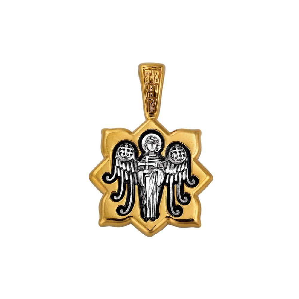 """Образок Акімов 102.132 «Свята мучениця Лариса.Ангел охоронець"""""""