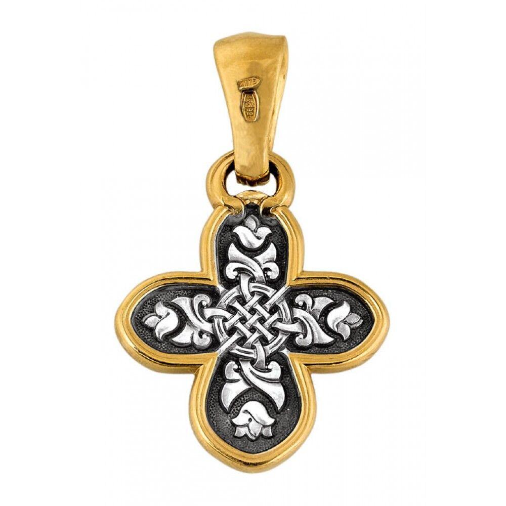 Крест нательный Акимов 101.086 «Спас Нерукотворный. Молитва»