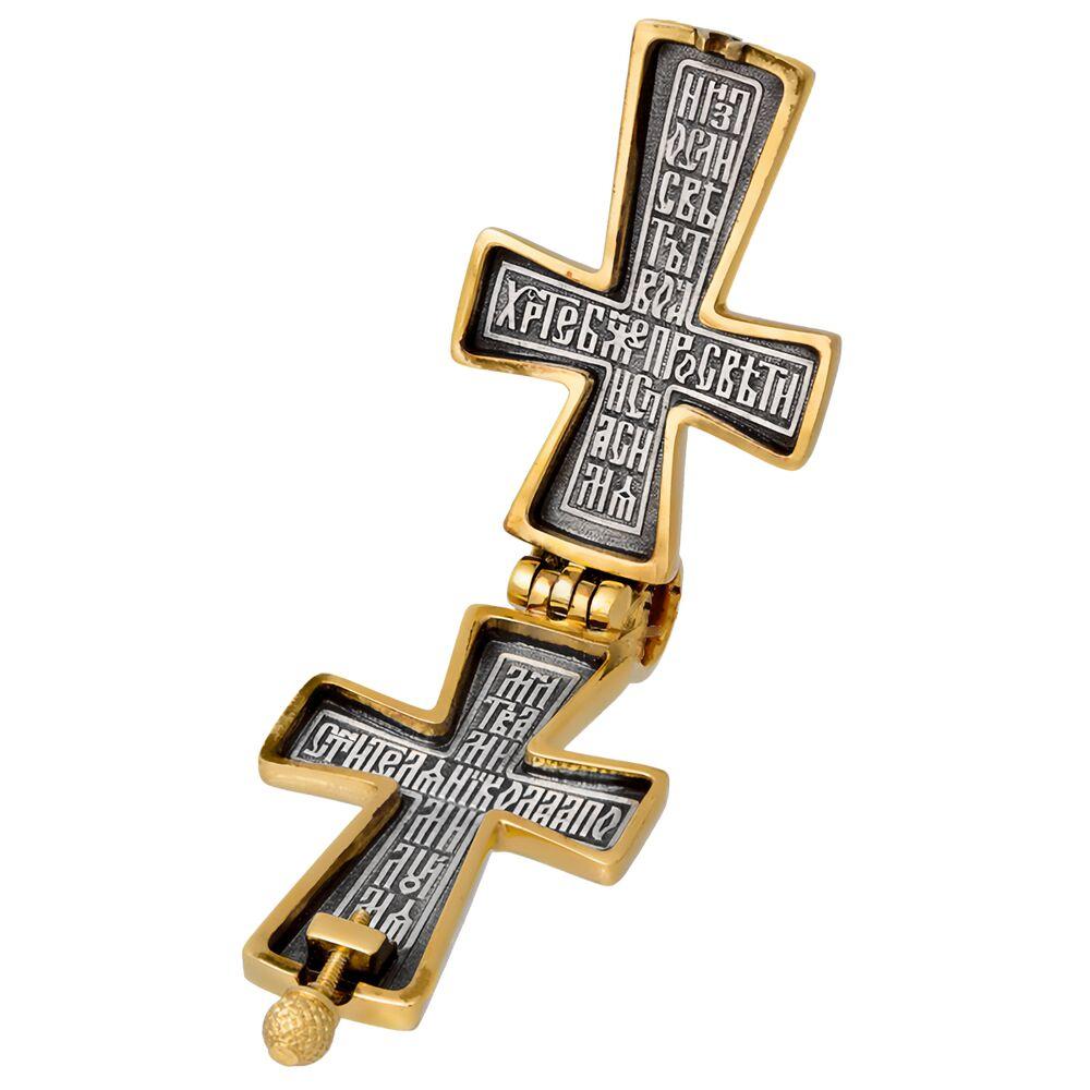 Мощевик Акимов 107.034 «Распятие. Св. Николай Чудотворец»