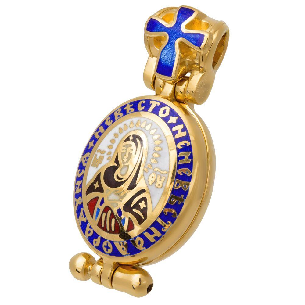 Мощевик Акимов 107.203 «Икона Божией Матери «Умиление» Серафимо-Дивеевская»