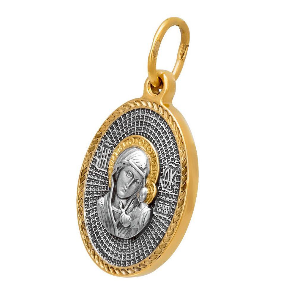 Icon Akimov 102.081 «Kazan Icon of the Mother of God. Protective Prayer».