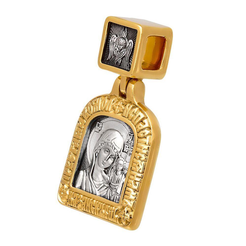 Icon Akimov 102.210 «The Kazan icon of the Mother of God. Two prayers»