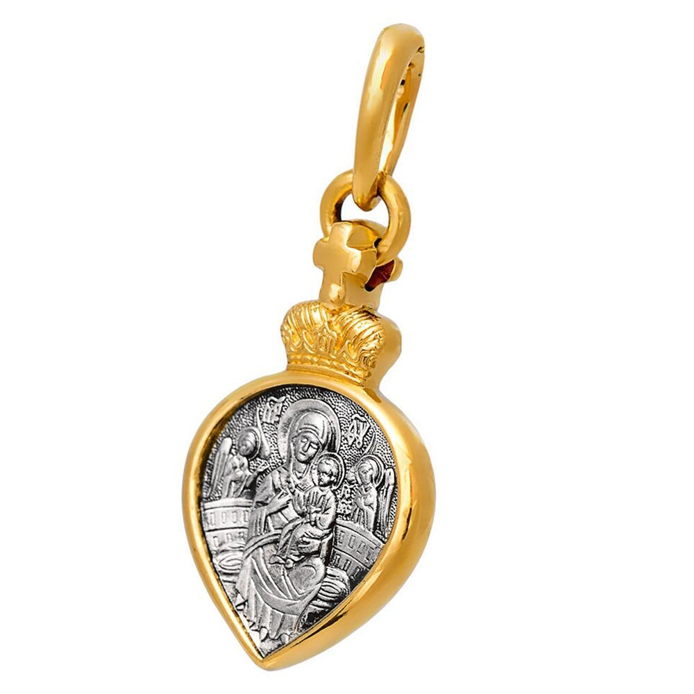 Образок Акимов 102.278 «Икона Божией Матери «Всецарица». Ангел Хранитель»