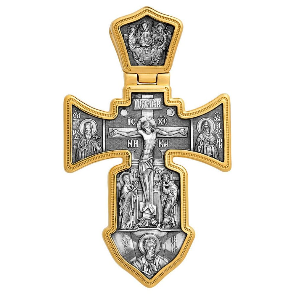 Neck Cross Akimov 101.002 «Crucifix. Guardian Angel»