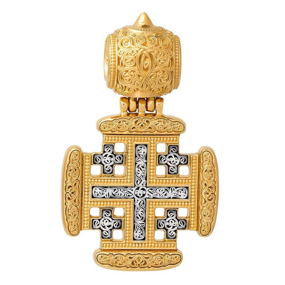 Крест нательный Акимов 101.262 «Иерусалимский крест»