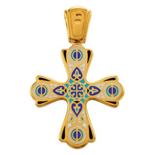 Крест нательный Акимов 103.011 «Голгофа. Чудись Божию Чудному Чуду»