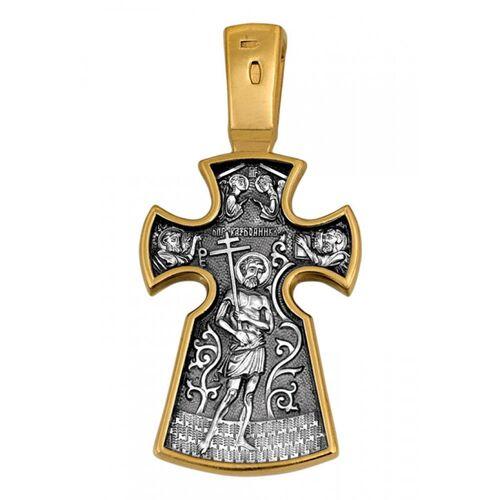 Neck Cross Akimov 101.077 «Crucifix. The Penitent Robber»