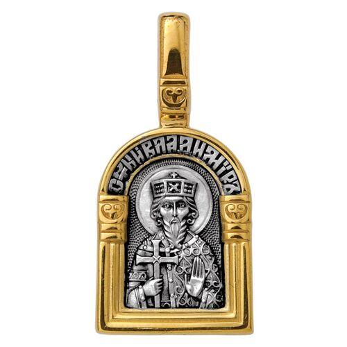 Образок Акимов 102.115 «Святой равноапостольный великий князь Владимир. Ангел Хранитель»