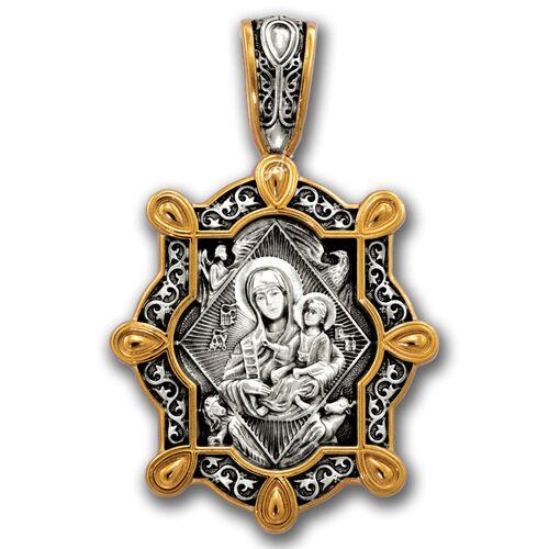 Образок Акимов 102.235 «Икона Божией Матери «Неопалимая Купина»