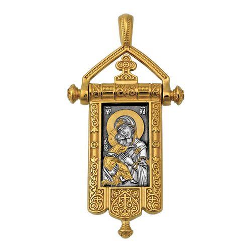 Образок Акимов 102.124 «Владимирская икона Божией Матери. Процветший Крест»