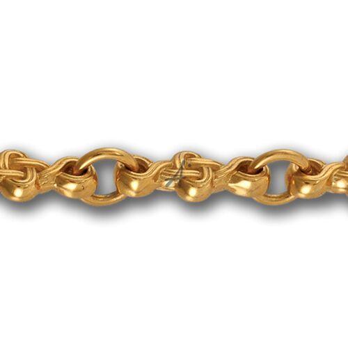 Ланцюг Акімов 105.021-P «Плетений хрест» Замок-карабін Позолота