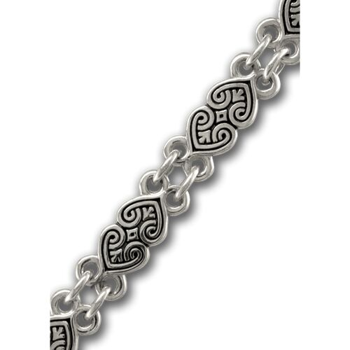 "Chain Akimov 105.022 ""Flourishing hearts"" Lock Adapter Silver"