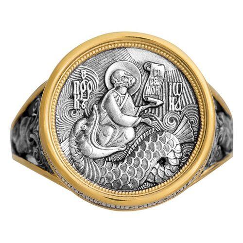 Охоронне кільце Акімов 108.041-P «Святий пророк Йона» Позолота