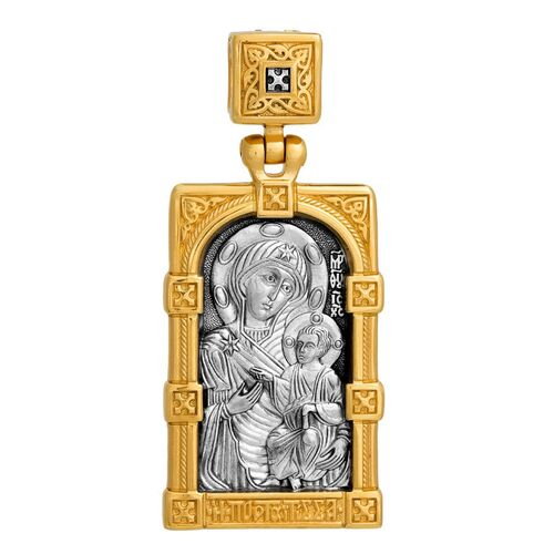 Образок Акимов 102.127 «Иверская икона Божией Матери»