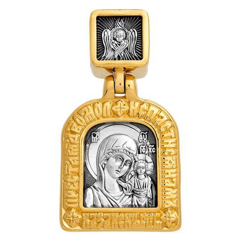 Образок Акимов 102.210 «Казанская икона Божией Матери. Две молитвы»