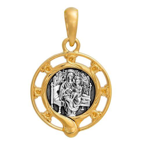 Образок Акимов 102.245 «Икона Божией Матери «Всецарица»