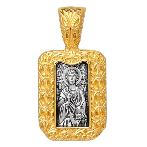 Icon Akimov 102.290 «St. Pantaleon (Panteleimon), the Great Martyr and Healer»