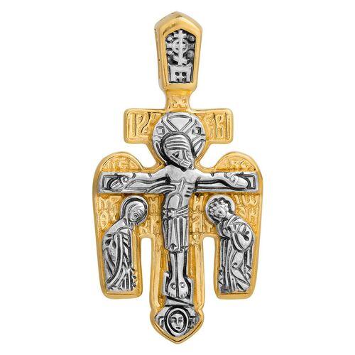 """Хрест натільний Акімов 101.024 «Розп'яття.Архангел Михаїл"""""""