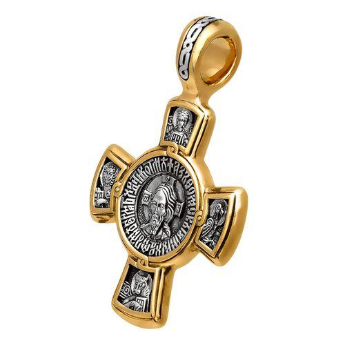 Крест нательный Акимов 101.029 «Спас. Касперовская икона Божией Матери»