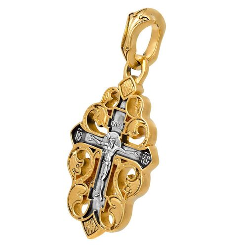 Neck Cross Akimov 101.091 «Grapevine Cross. Crucifix»